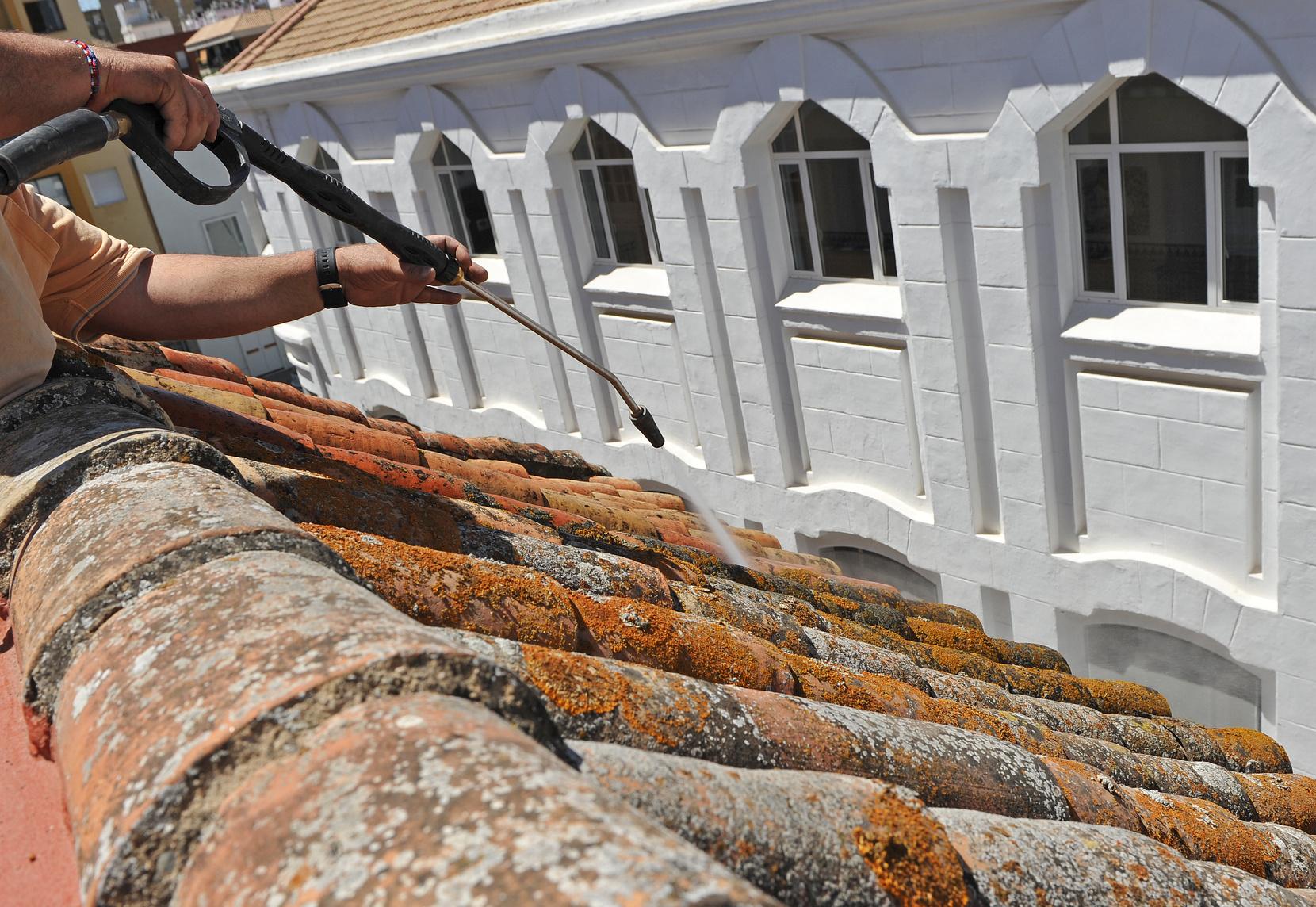 Peinture étanchéité toiture terrase