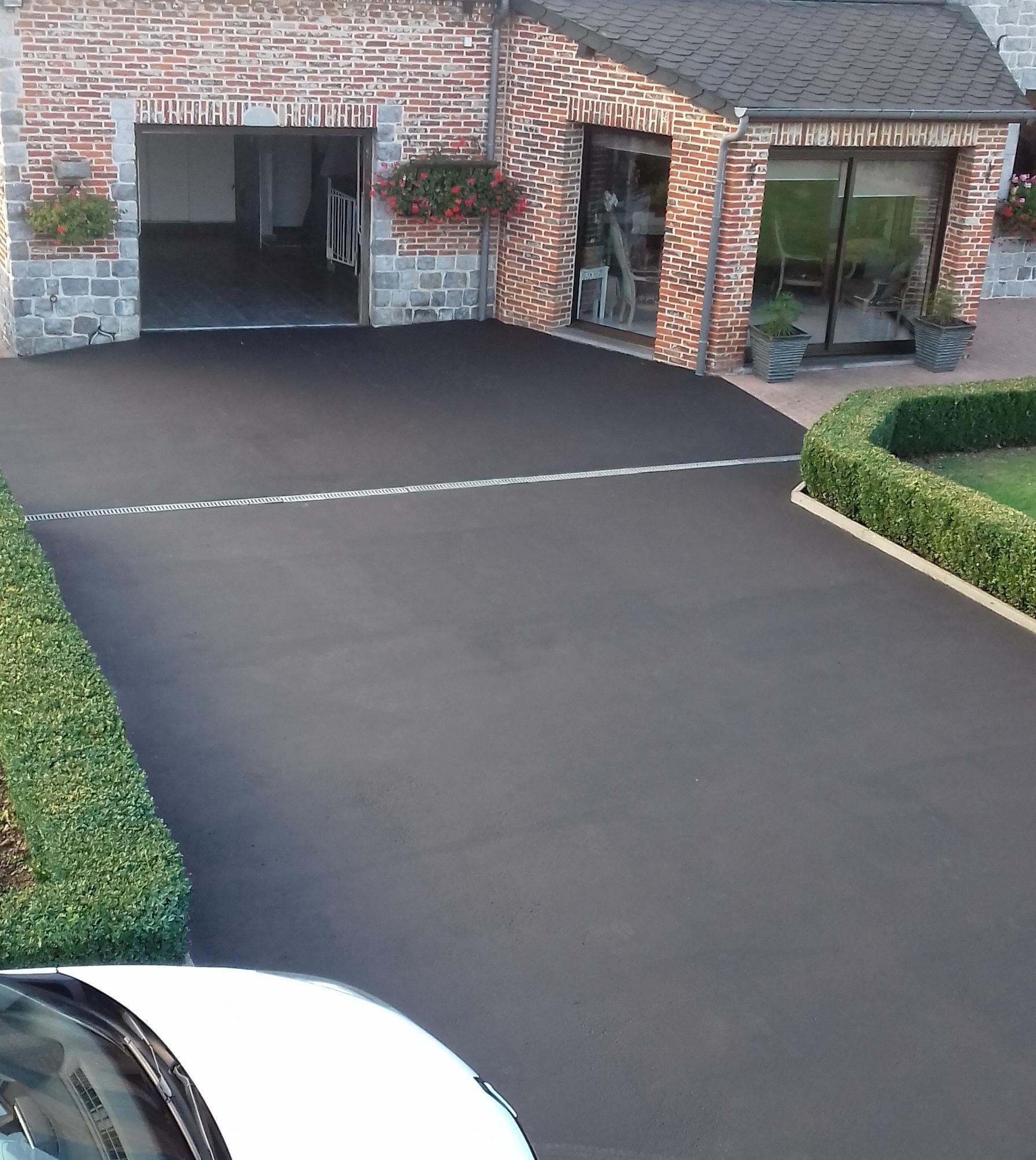 rev tement protection antid rapant pour sol de garage parking enrob s bitumeux. Black Bedroom Furniture Sets. Home Design Ideas