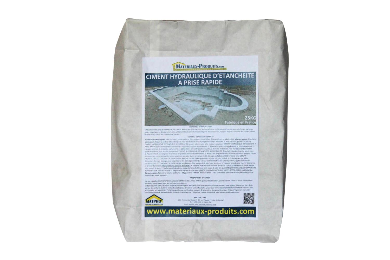 ciment hydraulique d 39 etancheite prise rapide ou pour moulage matpro fabricant. Black Bedroom Furniture Sets. Home Design Ideas