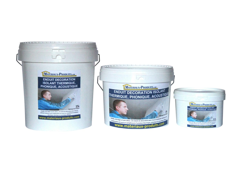 Enduit isolation thermique acoustique blanc r sistant pas cher - Isolant thermique polystyrene ...