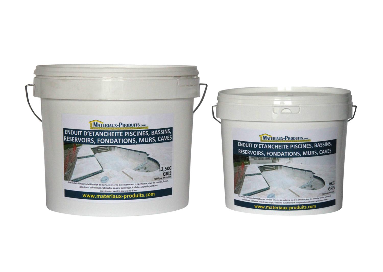 Enduit hydrofuge etanche pour piscine bassin murs for Peinture hydrofuge interieur