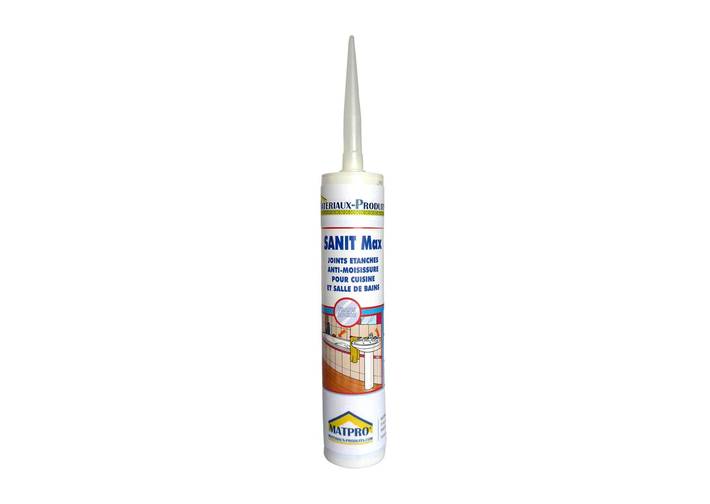 Cartouche de mastic silicone joints fongicides cuisine for Etancheifier joint carrelage
