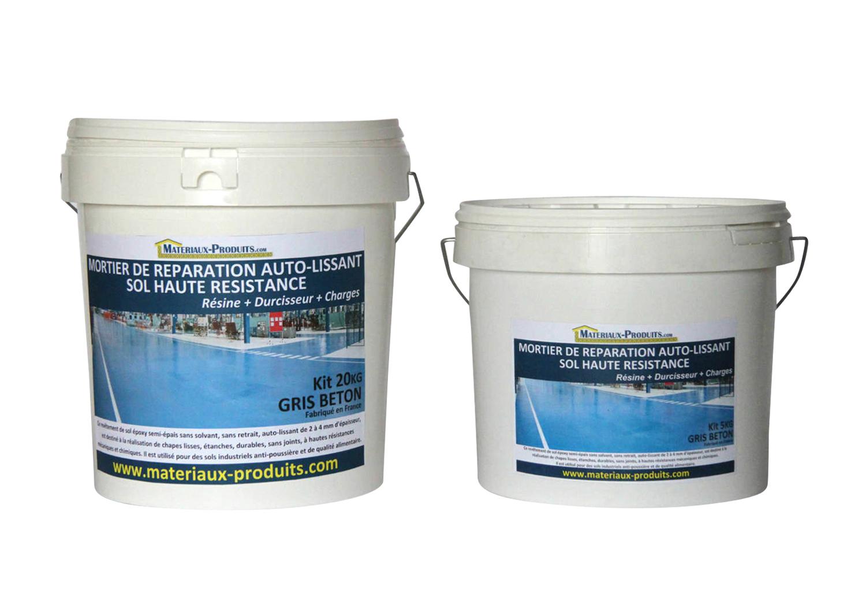 Mortier autolissant ultra r sistant pour de reparation sol for Mortier de reparation exterieur