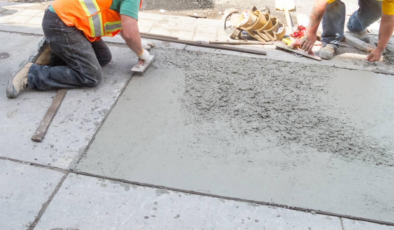 Mortier pour sols industriels et voiries prise et durcissement rapide - Beton prise rapide ...