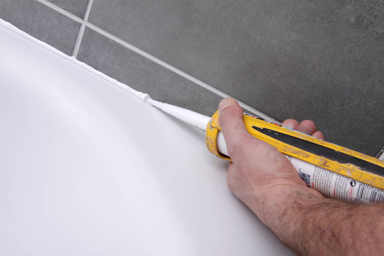 DESTOCKAGE Mastic Silicone Joints Salles De Bains Cuisines - Nettoyer joint silicone salle de bain