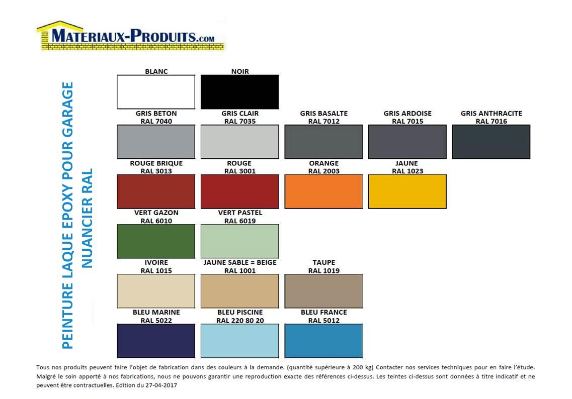 Peinture laque epoxy pour garge sols et murs - Peinture pour mur de garage ...