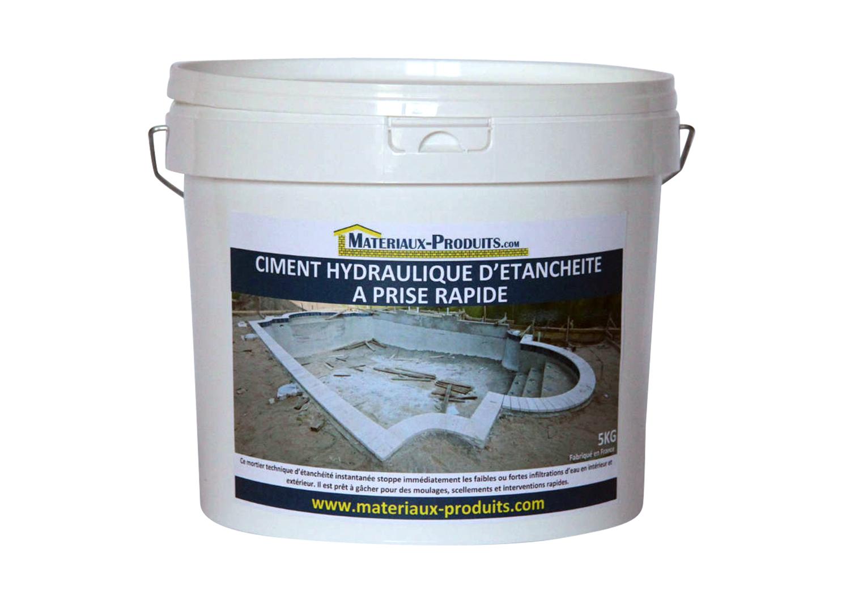Ciment hydraulique d 39 etancheite prise rapide for Ciment pour piscine