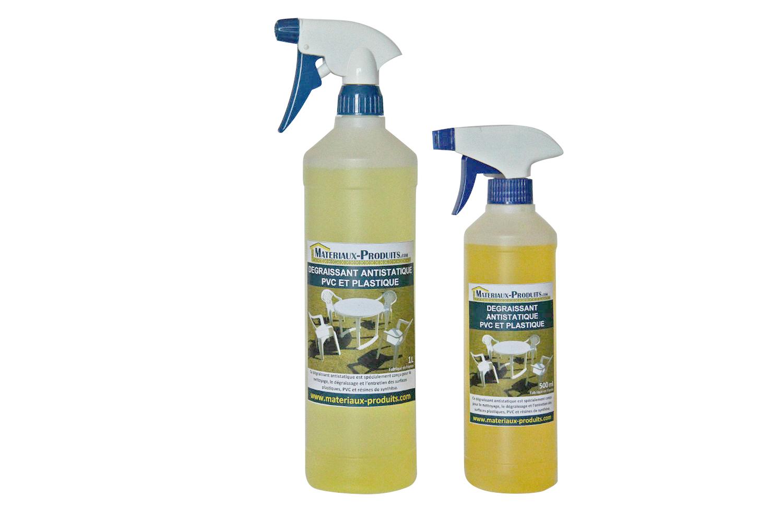 D graissant antistatique pvc et plastique for Nettoyer fenetre pvc jauni