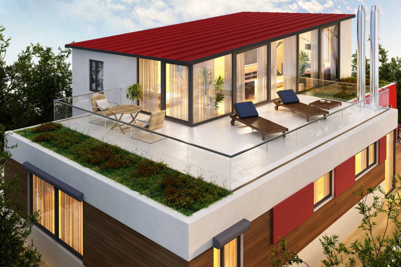 Etanchéité circulable toiture, terrasse et parking à pente zero