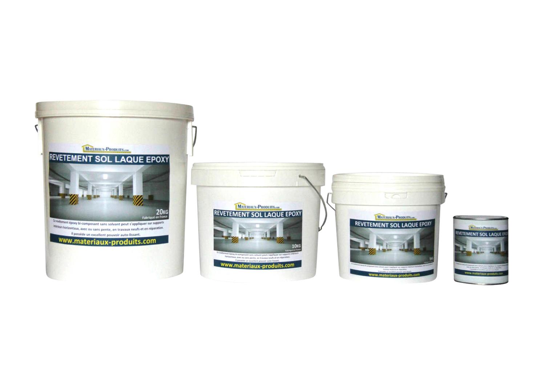 Peinture de sol laque epoxy pour beton 19 couleurs - Peinture resine pour carrelage sol ...